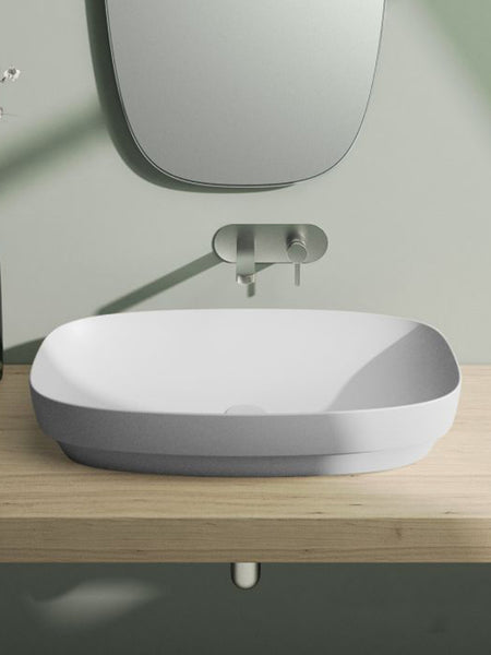 Green Lux Colori Countertop Basin 750X400 (Avail. in 7 Colour Tones)