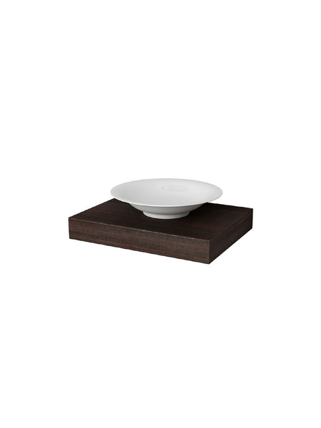 Haiku Soap Dish on Shelf Wood #12503-07