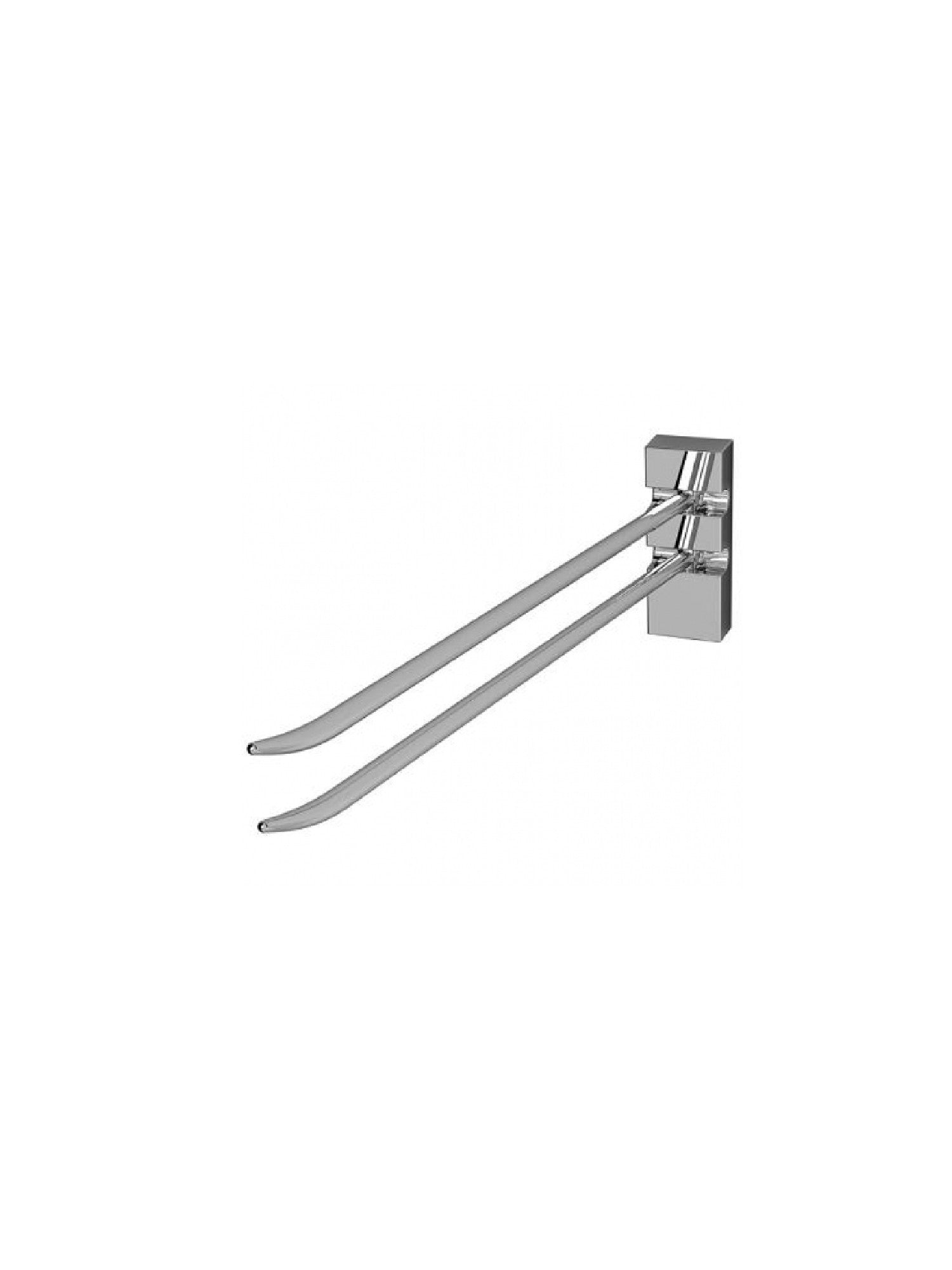 Haiku Two Arm Towel Rail #12505-02