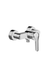 HansaVantis Style Exposed Shower Mixer w/ Solid Lever #5245 0173