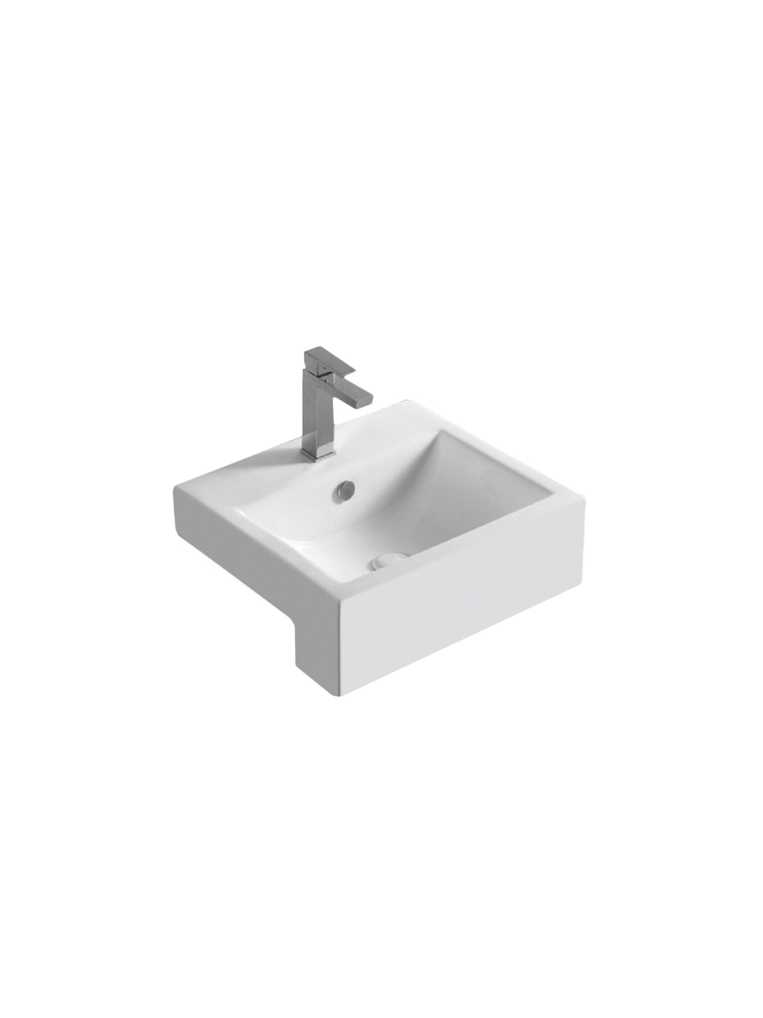 Liscia Semi‐Recessed Basin #FW‐B455R