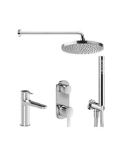 Fantini Lamé Shower & Mixer Set 1 - Bundle by Hemsley