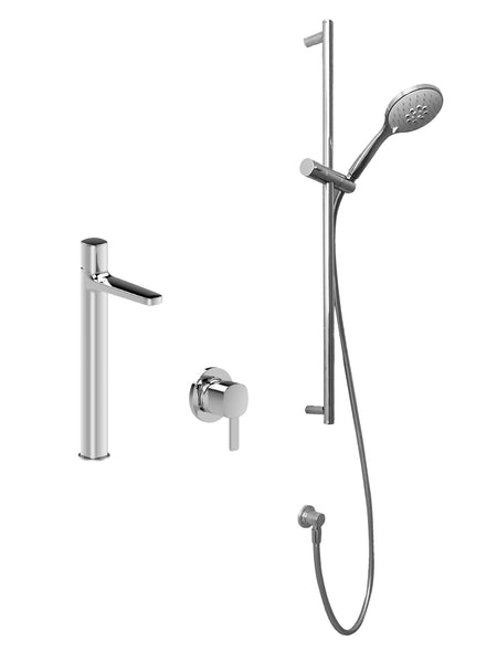 Fantini Lamé Shower & Mixer Set 2 - Bundle by Hemsley