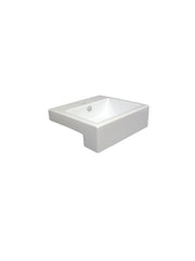 Liscia Semi-Recessed Basin #GM‐1288