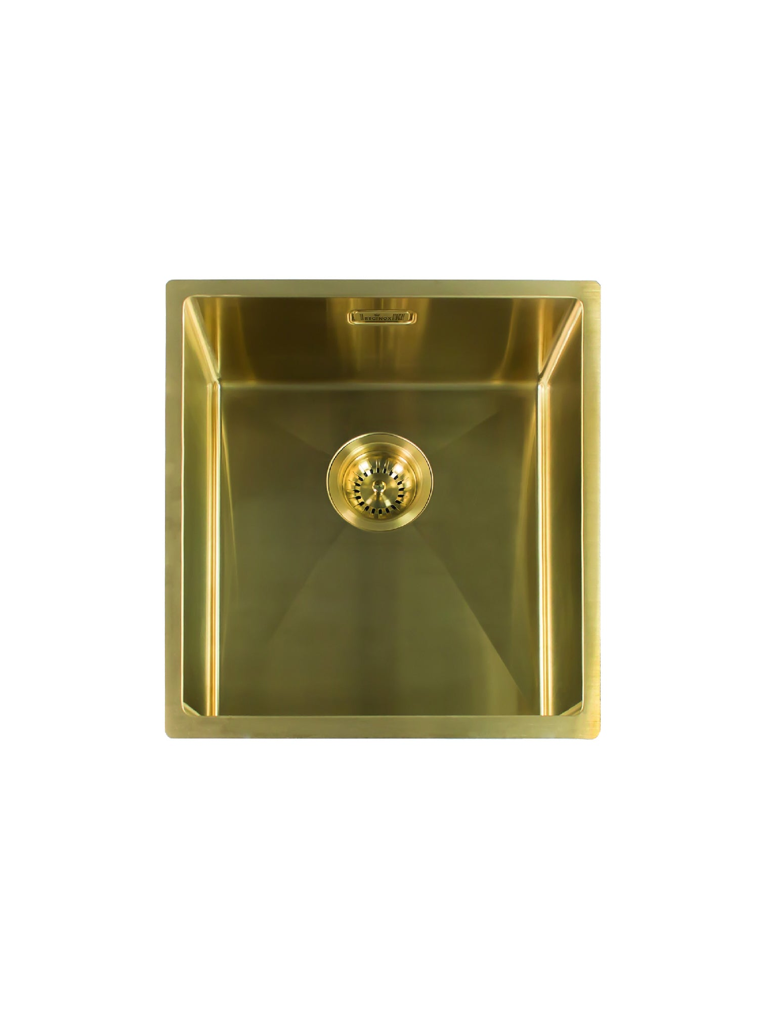 Reginox Miami Gold 40X40L Single Bowl Kitchen Sink – hemsleybathshoppe