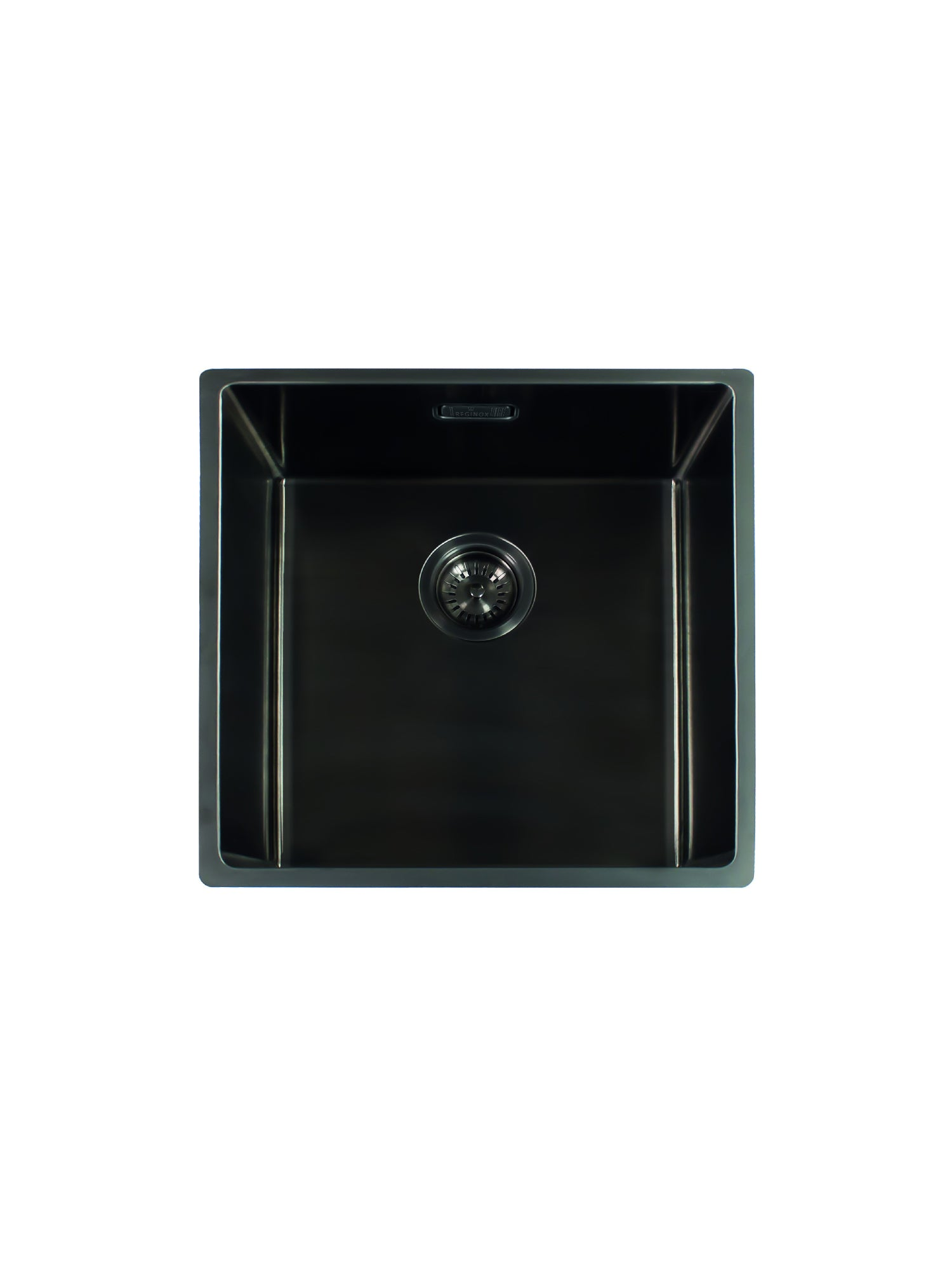 Reginox Miami Gun Metal 50X40L Single Bowl Kitchen Sink ...