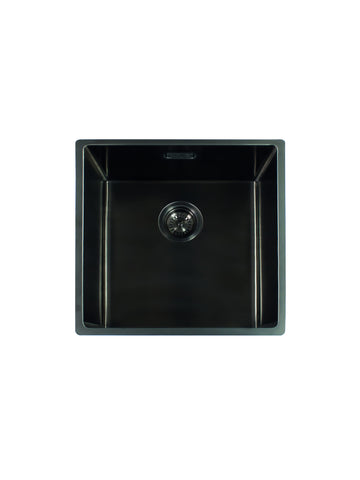 Reginox Miami Gun Metal 50X40L Single Bowl Kitchen Sink