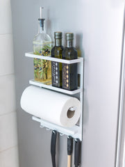Hemsley Magnetic Fridge Organizer - White