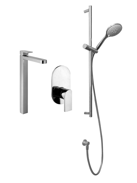 Fantini Mare Shower & Mixer Set 2 - Bundle by Hemsley