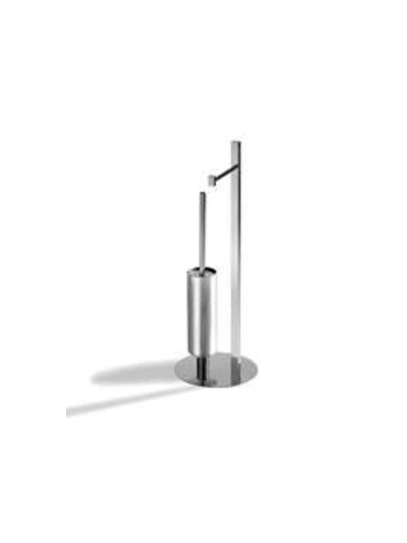 Free Standing Toilet Paper Holder w/ Toilet Brush #LR335C