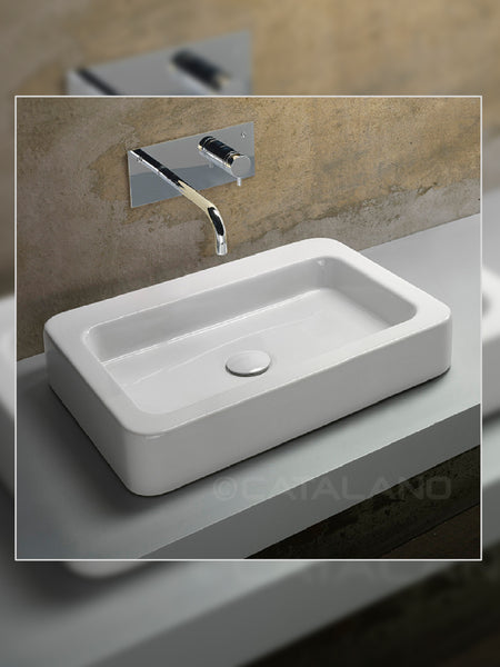 Roma 60 Countertop Basin (Decorated) #60RAD