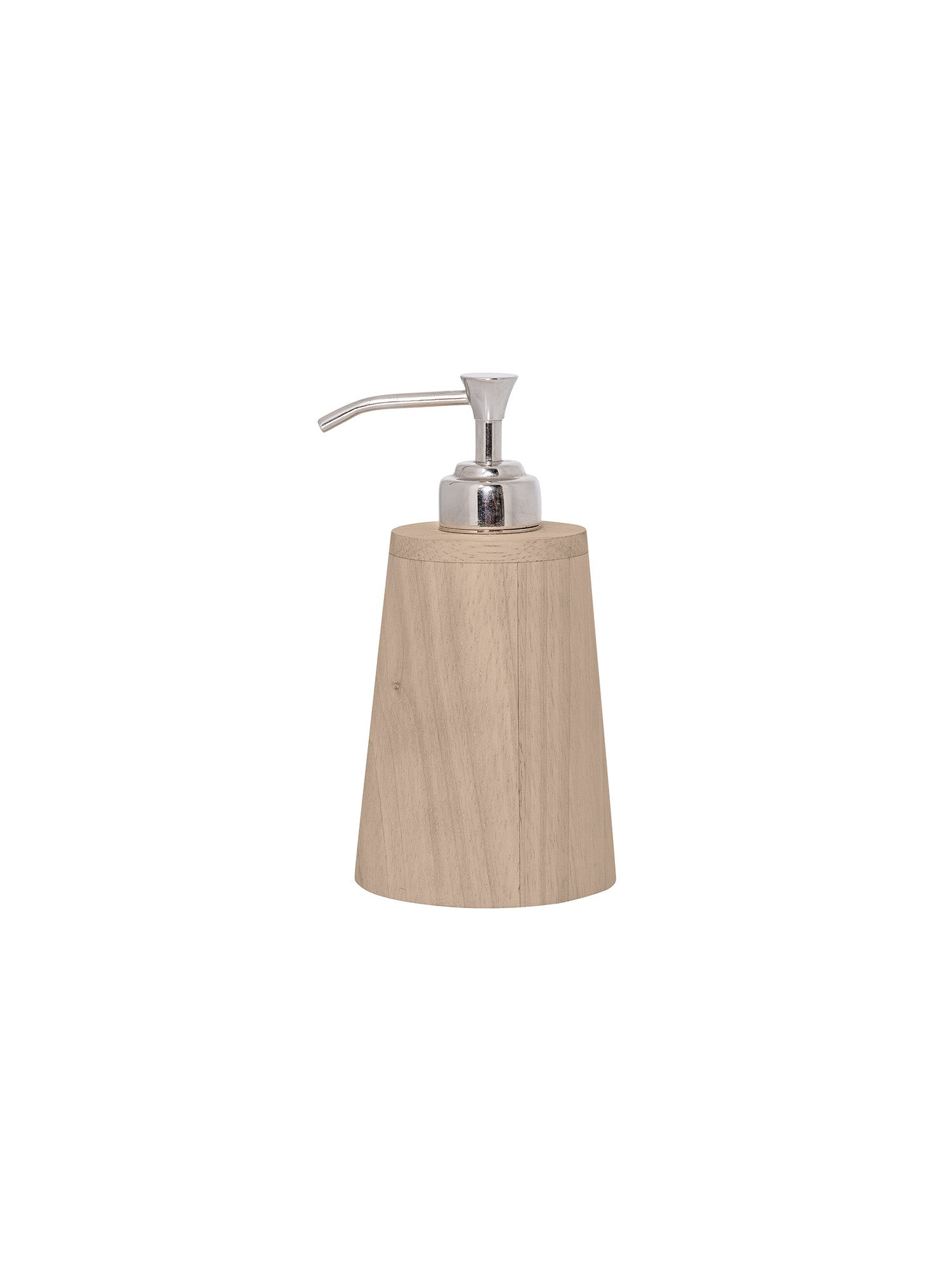 Rubber Wood Soap Dispenser #63104122