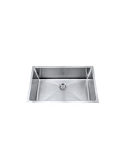 Single bowl Kitchen Sink #SQM-680 (FREE Magnetic Kitchen Organizer)