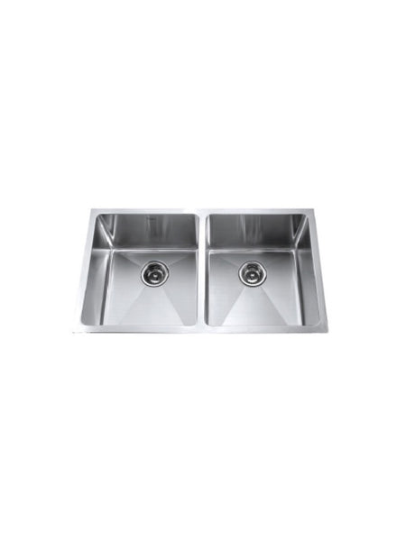 Double bowl Kitchen Sink #SQM-760