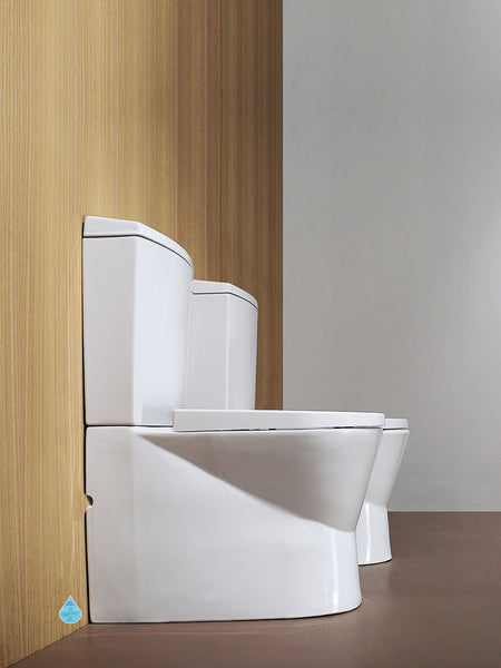 Urb.Y WC Suite (Back to the Wall) + Soft Closing Seat & Cover #140023