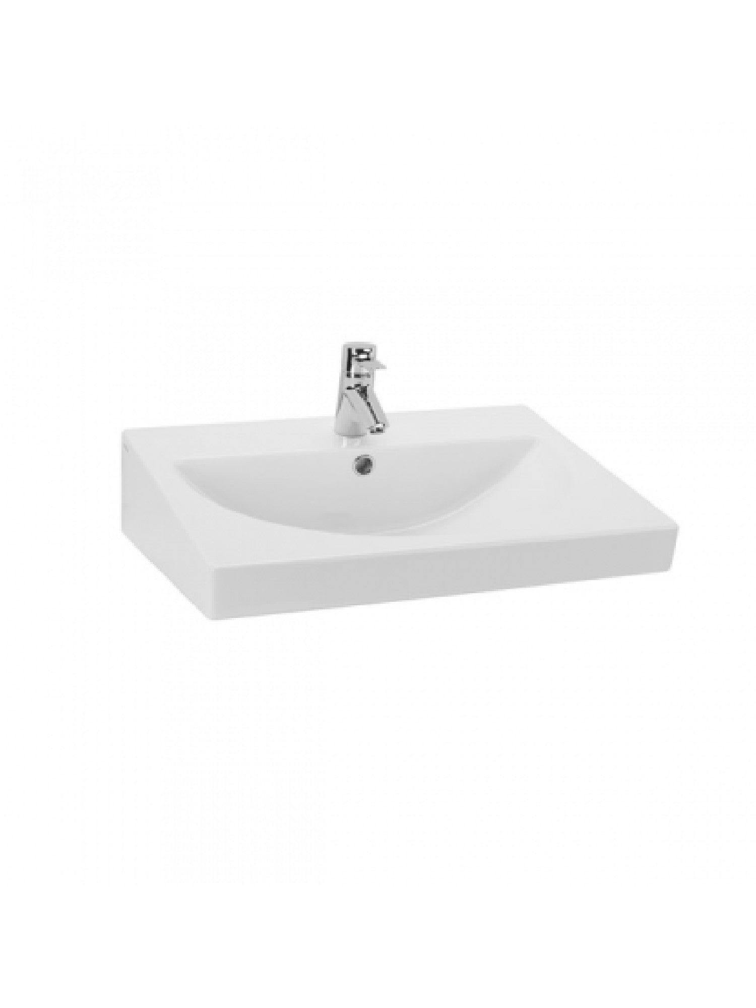 URB.Y 65 Wall-Mounted Basin  #140350