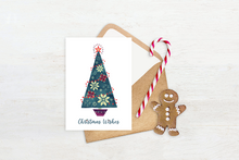 Load image into Gallery viewer, Christmas Wishes Printable Card, Scandinavian Christmas