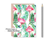Load image into Gallery viewer, Celebrate Card, Pride, Cassette Tape, Printable Card, Rainbow Colors