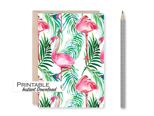 Celebrate Card, Pride, Cassette Tape, Printable Card, Rainbow Colors