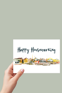 Happy Housewarming Card, New Home Card, Printable Card