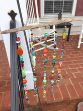 Load image into Gallery viewer, Boho Beaded Hanging Art - Happy Girl