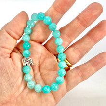 Load image into Gallery viewer, Elephant Bracelet, Fertility Bracelet, Agate Mala Bracelet, Good Luck