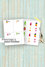 Load image into Gallery viewer, Personalized Popsicle Bundle, Popsicle Note Cards, Popsicle Cupcake Toppers, Printable Bundle, Popsicle Stationary, Popsicle Party Decor