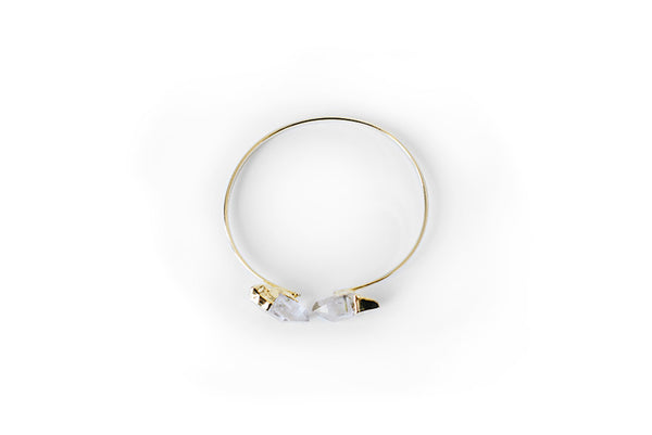 Dual Point Crystal Bracelet