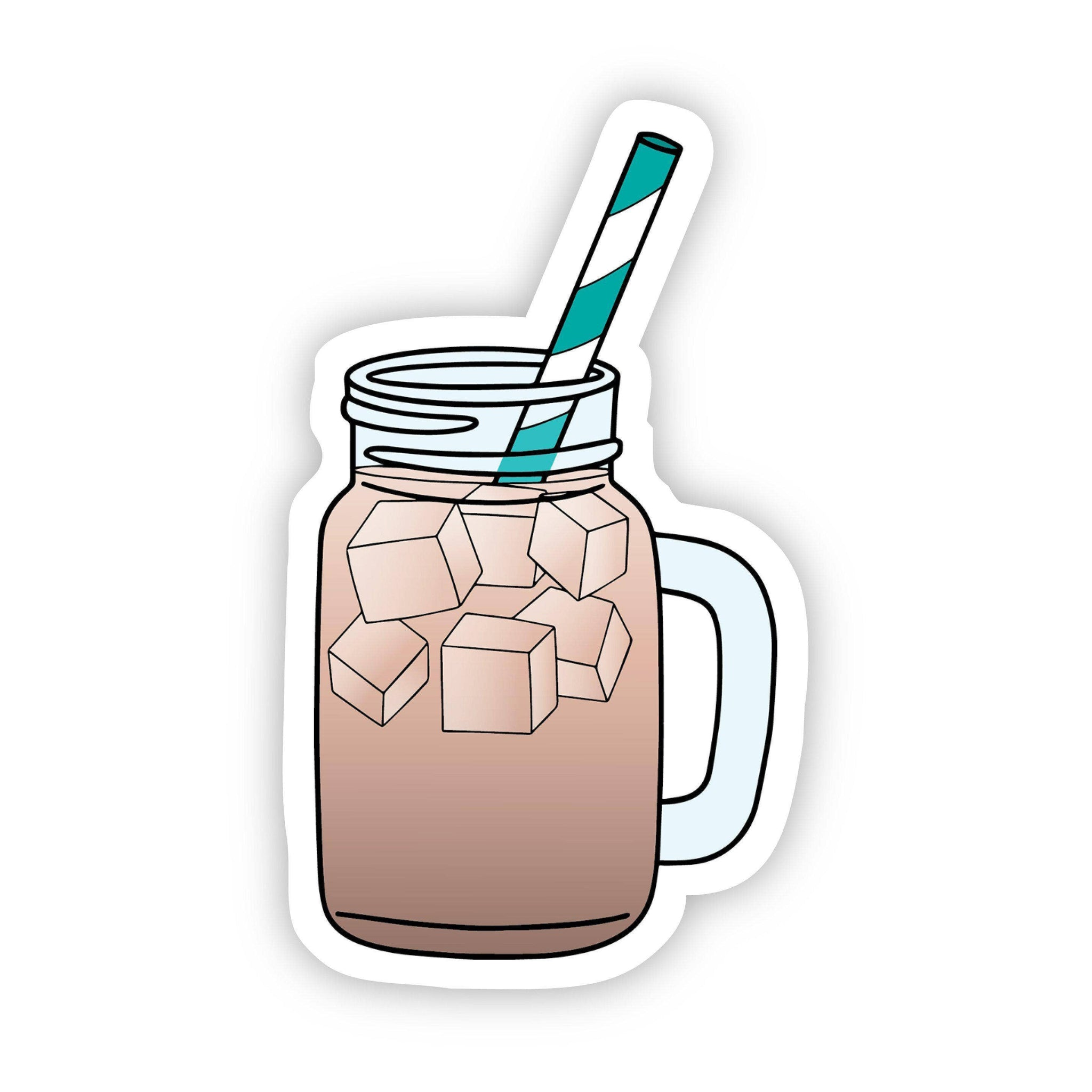 Big Moods - Iced Coffee Aesthetic Sticker
