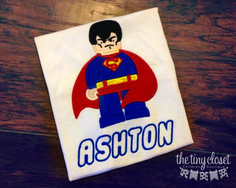 Personalized Lego Superman Design