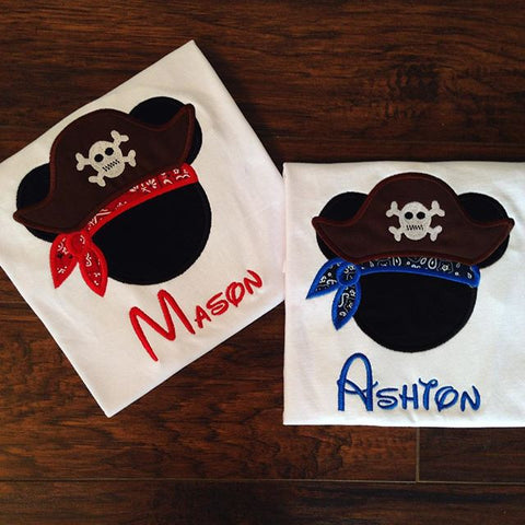 Personalized Pirate Design - Bandana