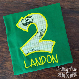 Personalized John Deere Birthday Design