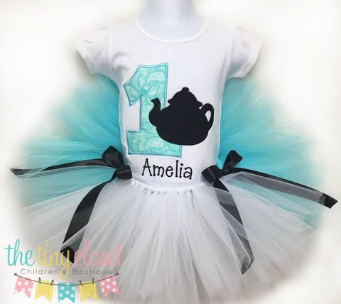 Personalized Alice in ONEderland Tutu Set