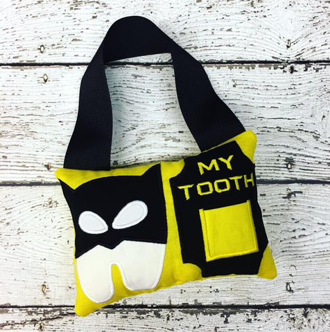Personalized Tooth Fairy Pillow - Batman