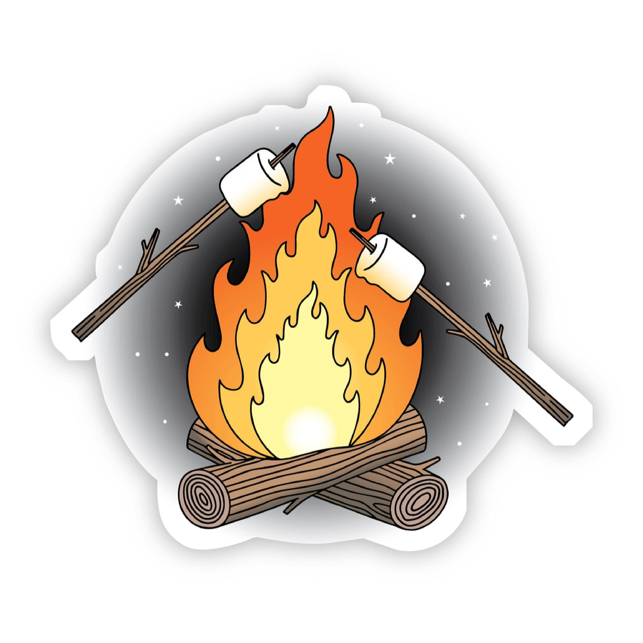 Big Moods - Campfire & Marshmallows Sticker
