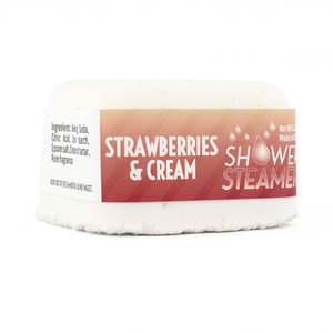 Country Bathhouse Wholesale - Shower Steamer - Strawberries and Cream