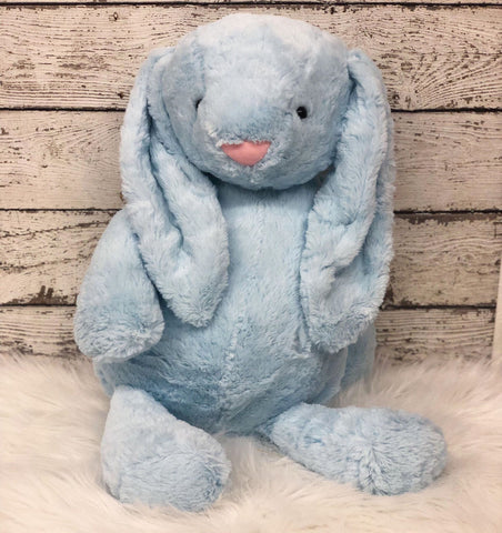 Personalized Easter Bunny- Mini BLUE