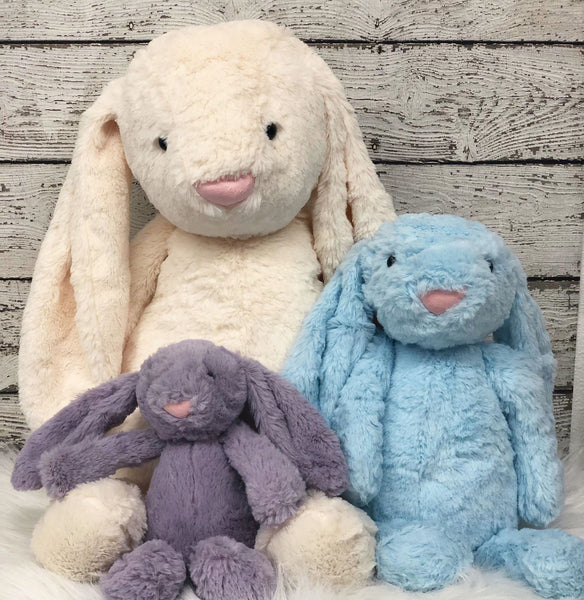 Personalized Easter Bunny- Med. BLUE
