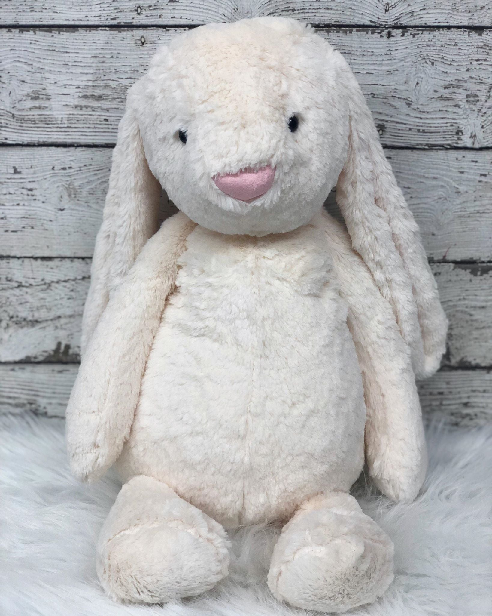 Personalized Easter Bunny- Med. CREAM