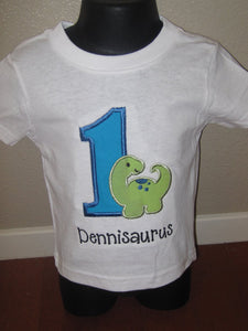 Personalized Dino Birthday Design