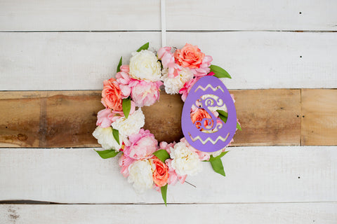 Easter Egg Wooden Monogram