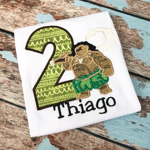 Personalized Maui Birthday Design