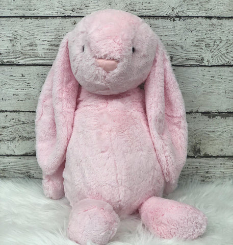 Personalized Easter Bunny- Med. PINK