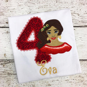 Personalized Princess Elena Design