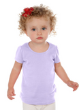 INFANT/GIRL - Scoop Neck Puff Cap Sleeve - UPGRADE LISTING.