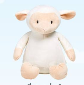 Personalized Cubbie- Lamby