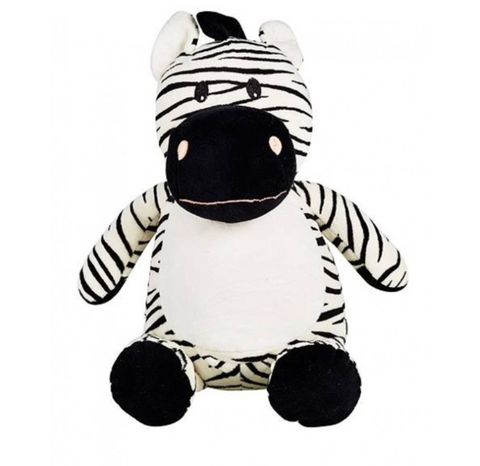 Personalized Plush - Digby - Zebra