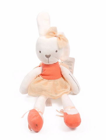 Ballerina Bunny- Orange