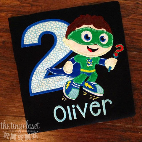 Personalized Super Why Birthday Design-Wyatt LG