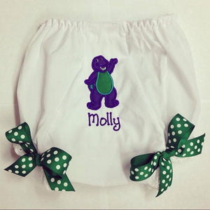 Personalized Barney Bloomer